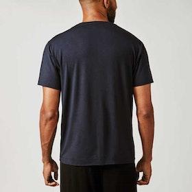 T-shirt Bill v-neck Darkblue - Movesgood