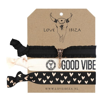 Hairties hårband/armband Vibes - Love Ibiza