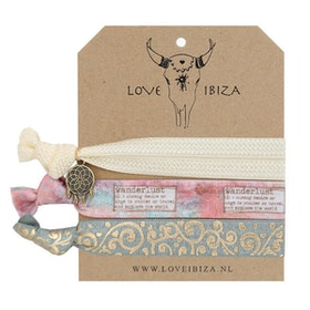 Hairties hårband/armband Wanderlust - Love Ibiza