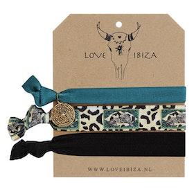 Hairties hårband/armband Wild & Wonder - Love Ibiza
