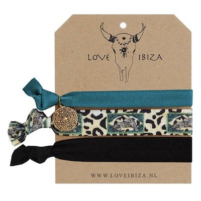 Hairties hårband/armband Wild & Wonder - Love Ibiza