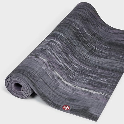 Yogamatta 4mm eKOLite Black Amethyst Marbled - Manduka