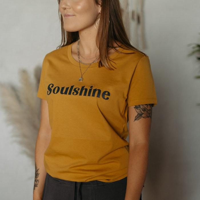 "T-shirt ""Soulshine"" Ochre - Soul Factory"