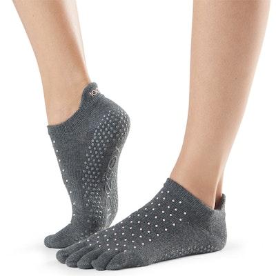 Yogastrumpor Fulltoe Low Rise Grip Antigue - Toesox