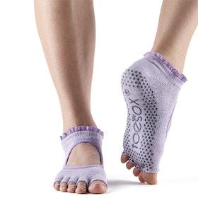 Yogastrumpor Halftoe Bella Grip Blossom lace - Toesox