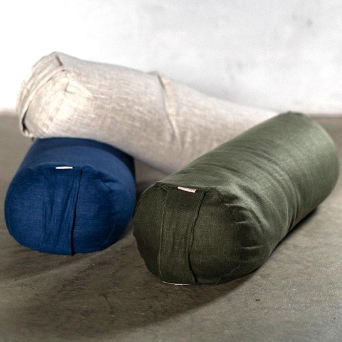 Yogabolster linne Natur - Heppa Design