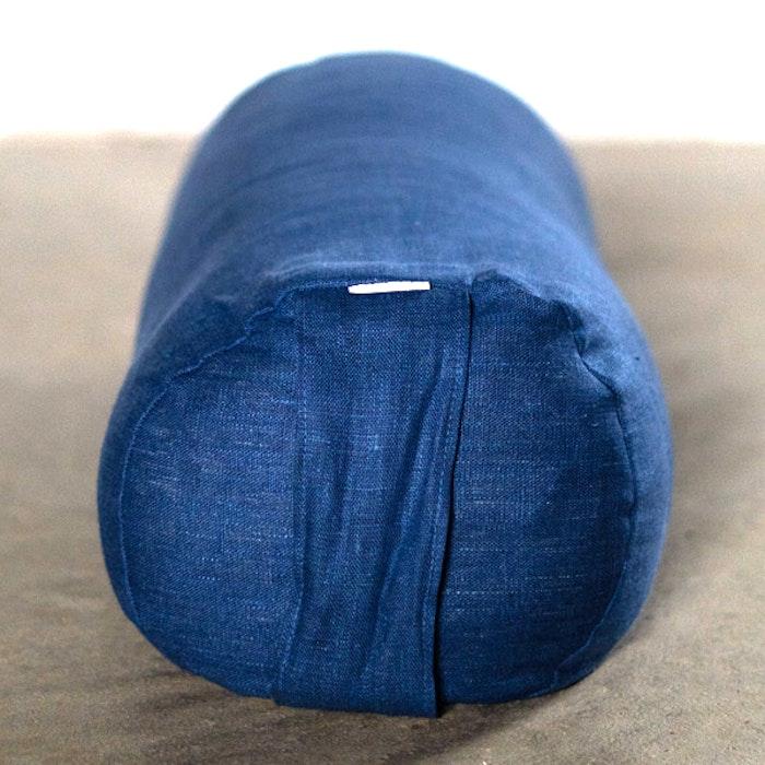 Yogabolster linne Jeansblå - Heppa Design