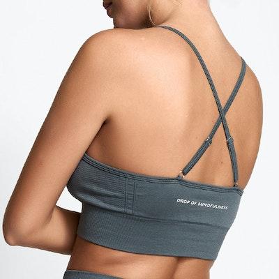 Sport-BH Yoga Seamless Trinity Ash Grey - DOM