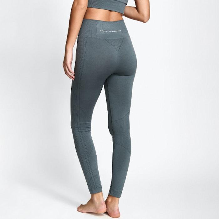 Yogaleggings Seamless CORA Ash Grey - DOM