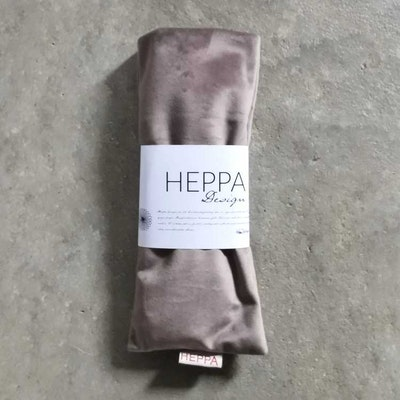 Ögonkudde Grå sammet - Heppa Design