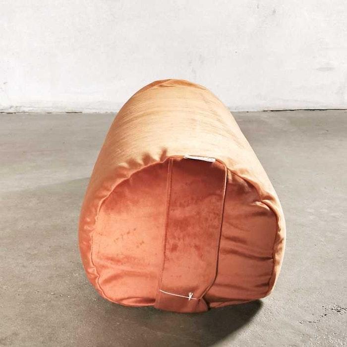 Yogabolster sammet Rost - Heppa Design
