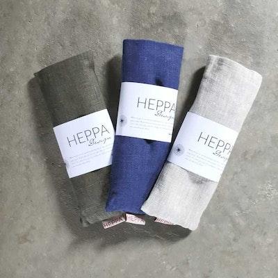 Ögonkudde linne Jeansblå - Heppa Design