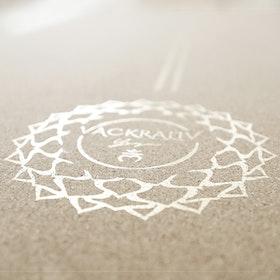 Yogamatta Kork 178x61 cm 4 mm + Yogaväska - Vackraliv