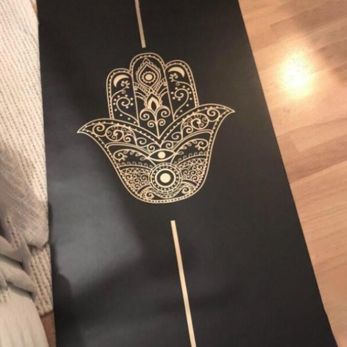 Yogamatta Hamsa 183x61 cm 2 mm + Yogaväska - Vackraliv Yoga