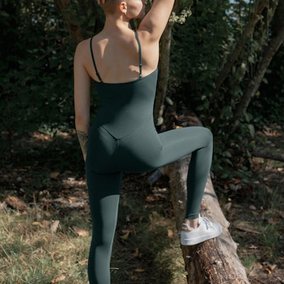 Jumpsuit The Unitard Moss - Girlfriend Collective