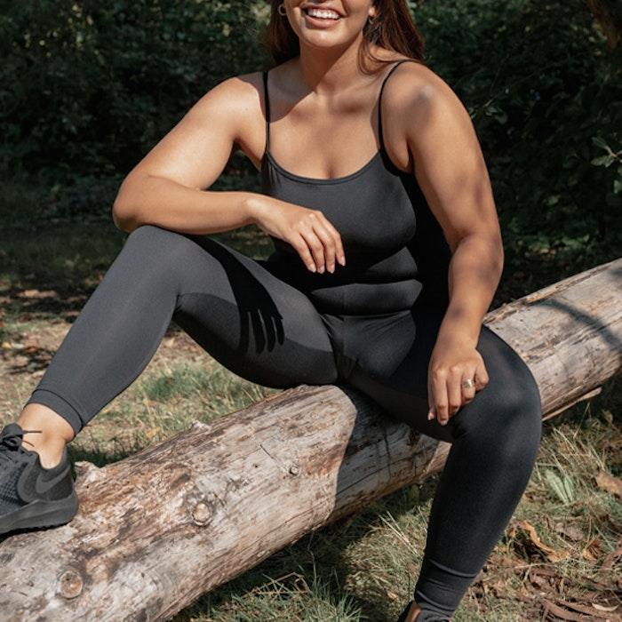 Jumpsuit The Unitard Black - Girlfriend Collective