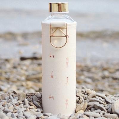 Vattenflaska Mismatch Playa i glas - Equa