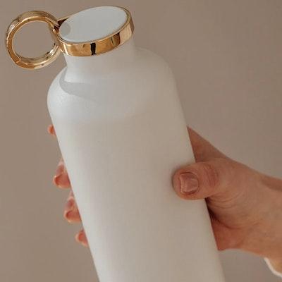 Vattenflaska Classy Thermo Snow White - Equa