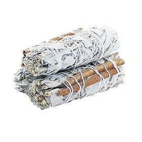 Salviabunt White sage & Cinnamon Stick - Yogia