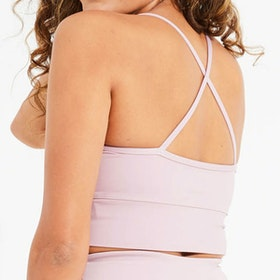 Sport-BH Yoga Wonder Luxe Ellis Crop Dusty Mauve - Dharma Bums