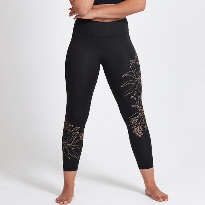 Yogaleggings Hana Recycled Foil High Waist 7/8 - Dharma Bums