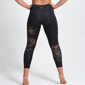 Yogaleggings Hana Recycled Foil High Waist 7/8 - Dharma Bums