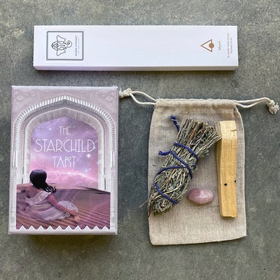 Rose Tarot & Smudge Kit