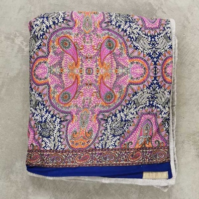 Yogafilt Sari/silke Pink oriental - E-swiss