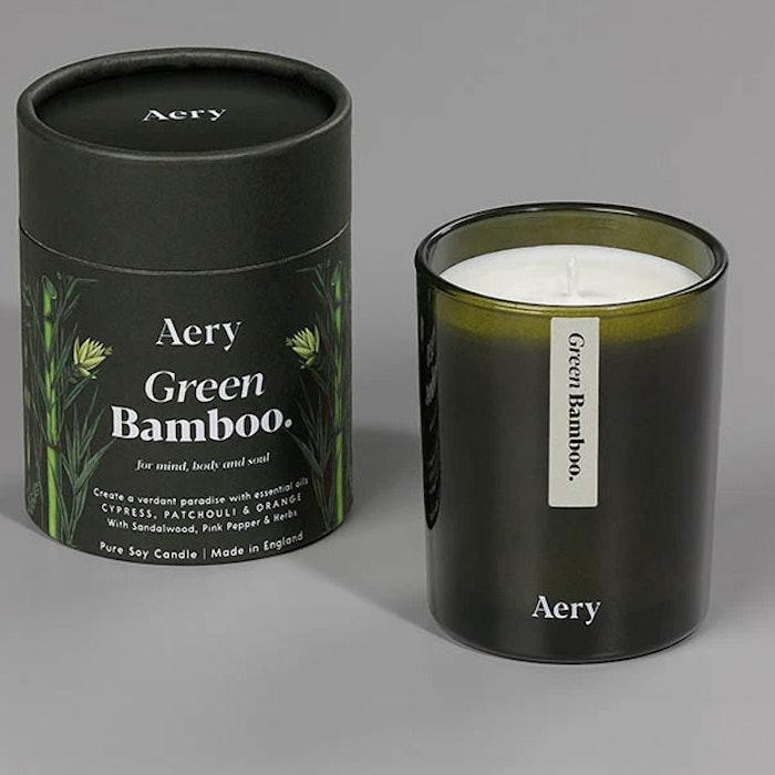 "Doftljus aromterapi ""Green Bamboo"" - Aery Living"