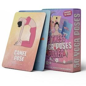 "Kort Yogainspiration ""Yoga Poses"" 50st kort"