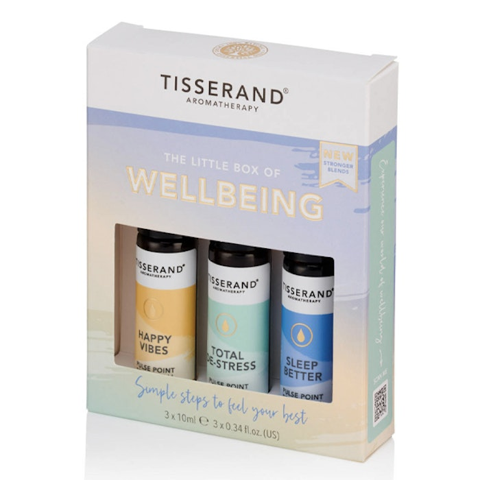 "Yogaoljor Roller ""The Little box of Wellbeing"" - Tisserand Aromatherapy"