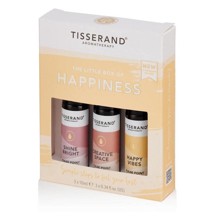 "Yogaoljor Roller ""The Little Box of Happiness"" 3-pack oljor - Tisserand Aromatherapy"