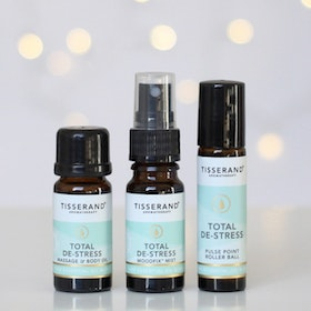 "Mist, Kropps- & Yogaolja ""Total De-Stress Discovery kit"" - Tisserand Aromatherapy"