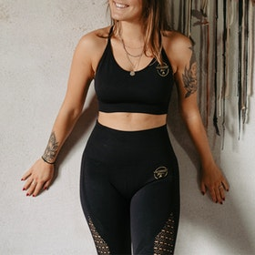 Seamless Set Yogaleggings & Yoga-BH - Vackraliv