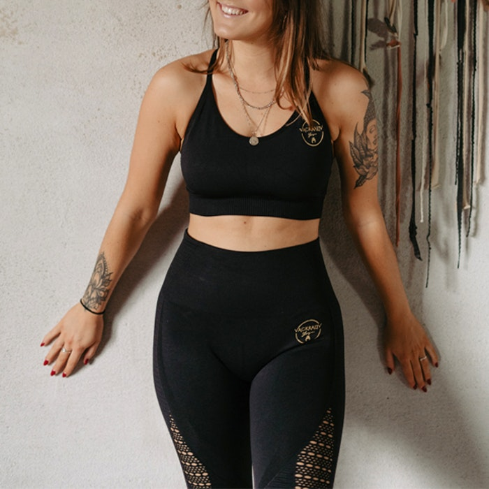 Seamless Set Yogaleggings & Yoga-BH - Vackraliv Yoga