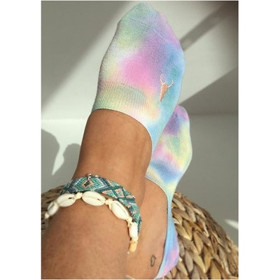 Strumpor/Sneakersocks Tie Dye - Love Ibiza