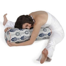 "Yogabolster Rund ""Navy Monsoon"" - Chattra"