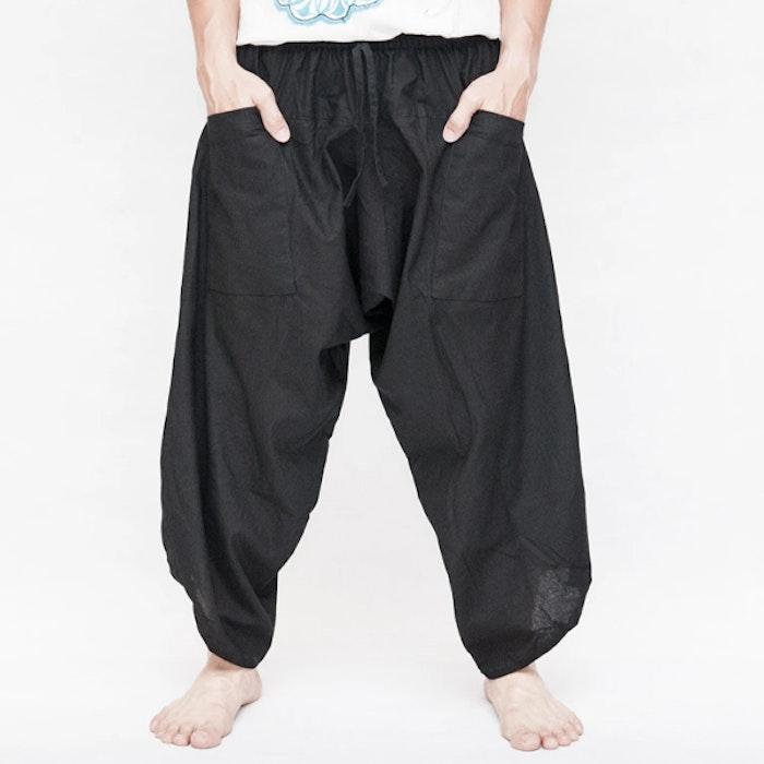 Haremsbyxor Ninja Style Drawstring Black