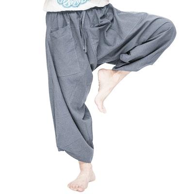 Haremsbyxor Ninja Style Drawstring Zen Gray