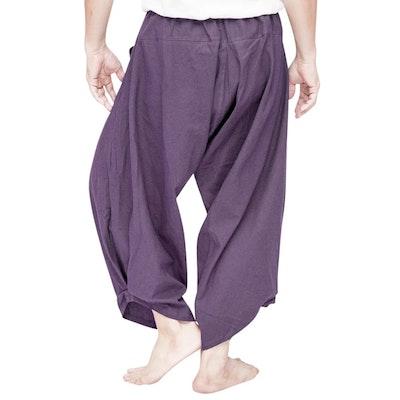 Haremsbyxor Ninja Style Drawstring Dark Purple