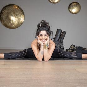 Yogaleggings Seamless Perfect fit 7/8 Black - Vackraliv Yoga