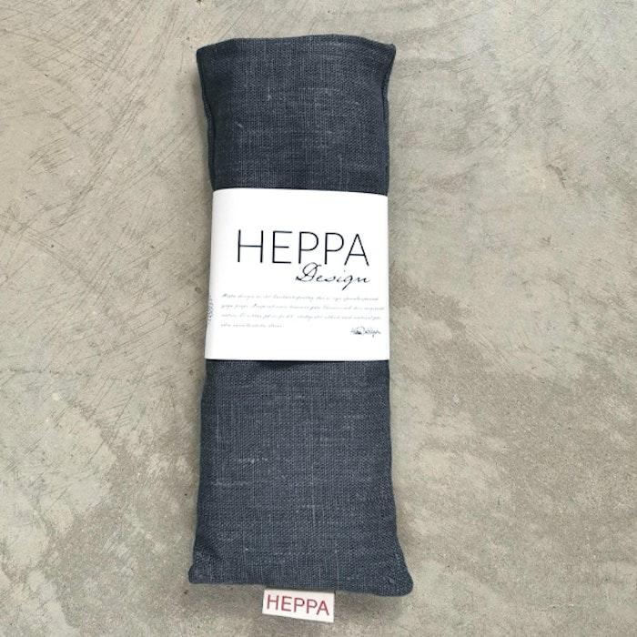 Ögonkudde linne Mörkgrå - Heppa Design
