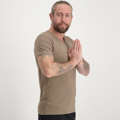 T-shirt Moksha tee Inca Cacao - Renegade Guru