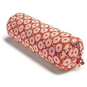 """Yogabolster Rund """"Pomgranate"""" - Chattra"""