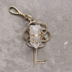 Nyckelhänge Bergskristall (Clear Quartz) - Ariana Ost