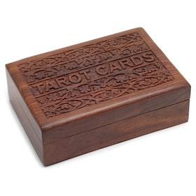 Trälåda för Tarotkort