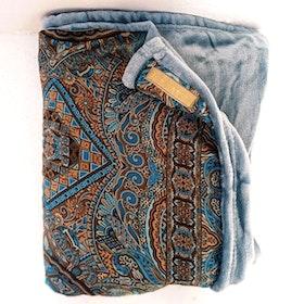 Yogafilt Sari/silke Sky Brown - E-swiss