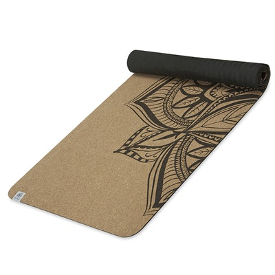 Yogamatta Kork 5mm Mandala - Gaiam
