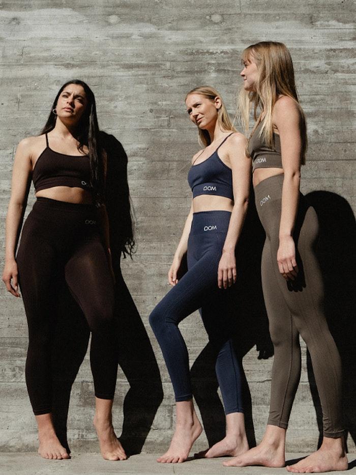 Sport-BH Yoga Seamless Trinity Dark Blue - DOM
