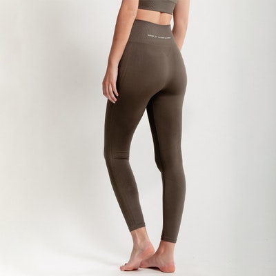 Yogaleggings Seamless CORA Dark Olive - DOM